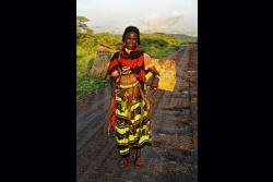 Bergère nomade, Ethiopie