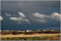 Soir d'orage sur l'ile d'Ouessant